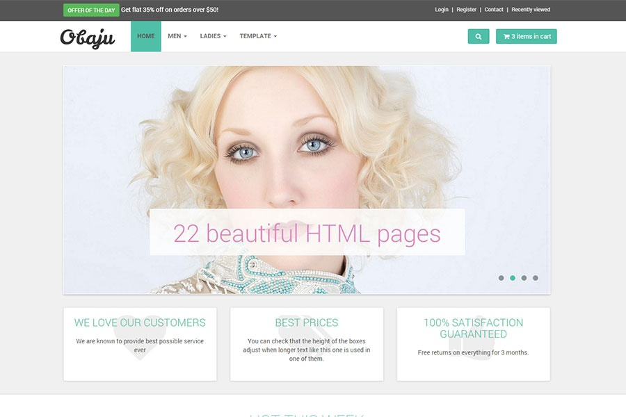 Bootstrap 4 E-commerce Templates - 9 Awe-Inspiring Free & Premium Themes