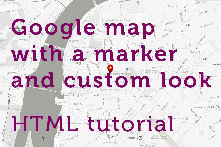 Google maps and Bootstrap Tutorial - Step-by-step: Custom look ...